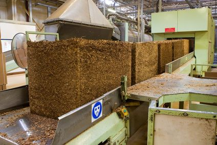 Tobacco processing plants release large amounts of odorous vapours