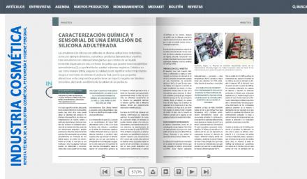 Publicación de Odournet en la Revista Industria Cosmética